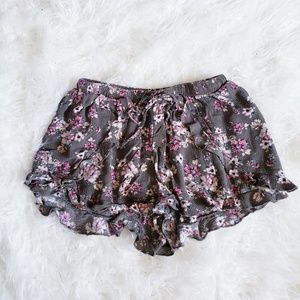 AEO Floral Shorts